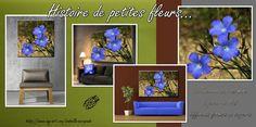 Histoire de petites fleurs bleues... http://www.my-art.com/isabelle-escapade/collections/provence
