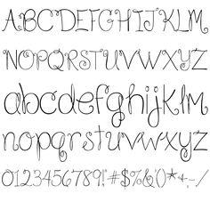 Because I am Happy Regular Font