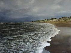 Het strand van Cape Burney, West Australië