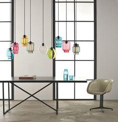 suspension en verre, lampes pendantes en verre
