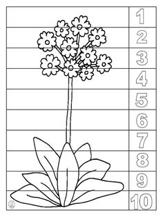 Fall Preschool Activities, Preschool Crafts, Activities For Kids, Educational Crafts, Spring Theme, Spring Crafts, Spring Flowers, Kids And Parenting, Embroidery Patterns