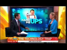 Media - Dr Kristy Goodwin on the Today Show Physical Development, Today Show, Physics, Interview, Technology, Digital, Children, Blog, Tech