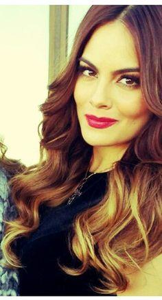 Ximena Navarrete Ombre Hair