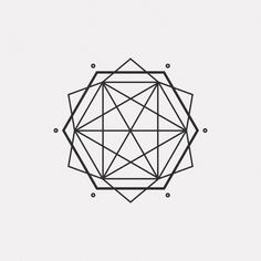"dailyminimal: "" #OC16-728 A new geometric design every day """
