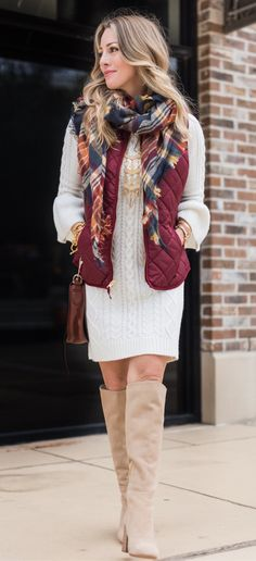 #winter #outfits blonde hair woman