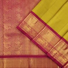 Kanakavalli Kanjivaram Silk Sari 280-01-36368 - Cover View
