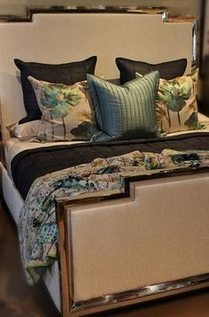 Exquisite linens & fine goods for your home. Our luxurious store carries a large selection of European bedding, cotton & linen sheets, duvet covers, pillows & lounge wear. Linen Sheets, Linen Bedding, Bed Linen, Bachelors Chest, Bernhardt Furniture, Upholstered Beds, Bed Styling, Bed Frame, Bedroom Furniture