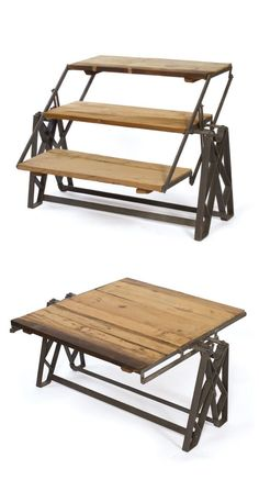 Shelves that Turn into a Coffee Table or is it a Coffee Table that Turns into Shelves LoL