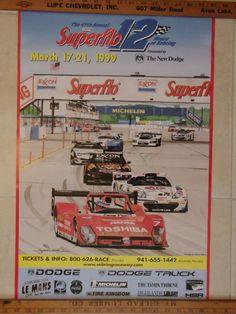 1999+Superflow+12+Hours+of+Sebring+Poster