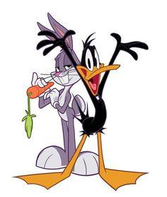 Bugs and Daffy by Jessica Borutski