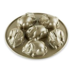 Nordic Ware Mini Easter Bunny Cakelet Pan   Williams-Sonoma