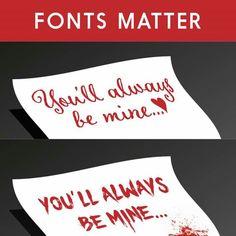 hehehe - writers! take note!