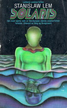 Peter Haars, cover illus. for Norwegian edition of Solaris, 1974