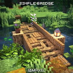 Minecraft Building Guide, Minecraft House Plans, Minecraft Houses Survival, Minecraft Cottage, Cute Minecraft Houses, Minecraft House Designs, Minecraft Blueprints, Minecraft 1, Minecraft Crafts