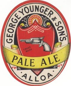 We all know that the export trade was important to Scottish brewers. But where exactly was George Younger's beer going? Beer Advertisement, Family Genealogy, Wine And Beer, Typography Design, Whisky, Brewery, Ale, Sons, Visualising