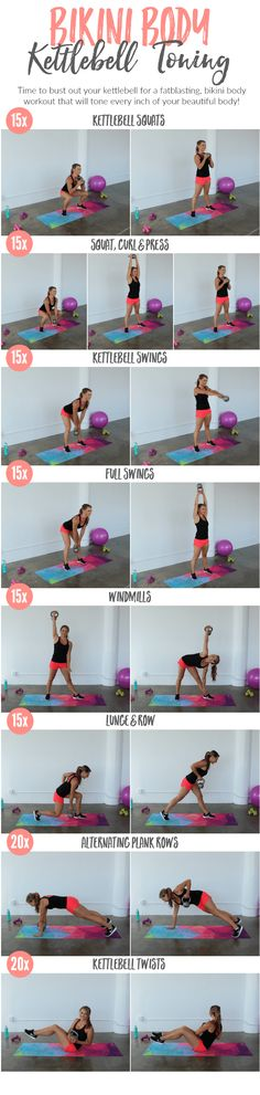 Bikini Body Kettlebell Toning | Posted By: AdvancedWeightLossTips.com