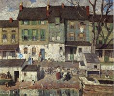 On the Canal Newhope ~ 1916 ~ Robert Spencer