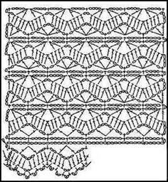 PATRONES - CROCHET - GANCHILLO - GRAFICOS: GANCHILLO Y SU GRAFICOS O PATRONES…
