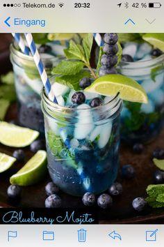 Blueberry Mochito