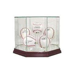 Sports Mem, Cards & Fan Shop Official Website High Quality 9 Baseball Glass Display Case For Autographed Balls Little League A Wide Selection Of Colours And Designs