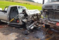 Duas pessoas ficaram gravemente feridas em um acidente no interior de São José do Cedro. O acidente ocorreu por volta das 16h20 desta terça-feira (06), na Linha Derrubada Baixa, nas proximidades da