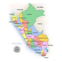 Lima Peru, Maps, Cards