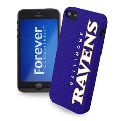 Baltimore Ravens Team Silicone iPhone 5 Ai5 Case Cover