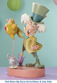 Alice in wonderland jody daily Mad Hatter Tea, Mad Hatters, Film Alice In Wonderland, Alice In Wonderland Figurines, Winter Wonderland, We All Mad Here, Big Fig, Lilo Et Stitch, 3d Art