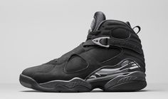 """Drake to Release Air Jordan 8 """"OVO""""? : Drizzy rumored to drop a """"Friends & Family"""" Jordan this weekend. Air Jordan Retro, Nike Air Jordan 8, Jordan Swag, Zapatos Air Jordan, Air Jordan Sneakers, Retro Sneakers, All Black Sneakers, Shoes Sneakers, Black Shoes"""