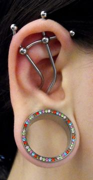#industrial #project #piercing #plug #style #fashion #jewelry