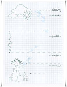 Napló - kislány cs-v Notebook, Bullet Journal, Exercise Book, The Notebook, Journals