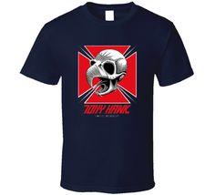 Tony hawk skateboard classic skull cross retro Tony Hawk Skateboard, Sport T Shirt, Skull, Retro, Classic, Sports, Mens Tops, Stuff To Buy, Derby