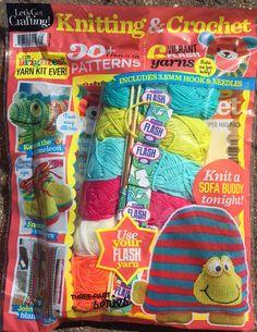 Issue 71 of LGC Knitting & Crochet magazine