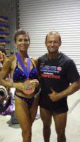 PhotoTeam Flexr6 Competitor Karen Skudder - 3rd place Masters Figure 2014 INBA Tropix A!!