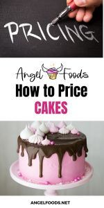 How much to charge for cakes | how to price cakes | cake pricing help | angel foods | cake business school Cake Business, Business Advice, Online Business, Pastry Cook, Cake Templates, Cake Pricing, Recipe For Success, Cake Online, Cake Makers