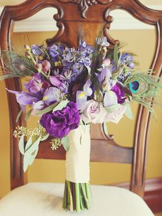 Got your color scheme figured out but now you need the right blooms? Check out our 16 favorite purple wedding bouquet ideas and the best flowers in hue.