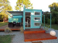 Shipping Container House Plan Book Series – Book 34 - Shipping Container Homes - #shippingcontainer Who Else Wants Simple Step-By-Step Plans To Design And Build A Container Home From Scratch? http://build-acontainerhome.blogspot.com?prod=C7hS68sf