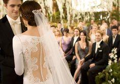 I adore Bella's wedding dress #BreakingDawn
