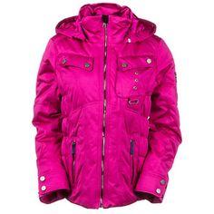 Obermeyer Leighton Womens Insulated Ski Jacket, Mt. Hale Print