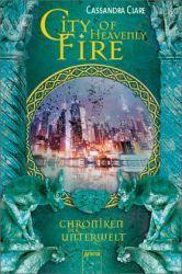 Cassandra Clare - City of Heavenly Fire / Chroniken der Unterwelt Bd.6 in meinen Augen der besten und spannendsten Band der Reihe. Der Stil ist auch hier wunderbar und enthält ein gutes Ende auch wenn die Autorin schon Werbung für ihr neues Werk macht.
