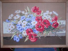 Embroidery, Painting, Art, Art Background, Needlepoint, Painting Art, Kunst, Paintings, Performing Arts