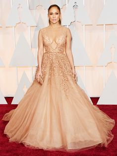 The Oscars Red Carpet Looks Everyone Is Talking About via @WhoWhatWear Jennifer Lopez