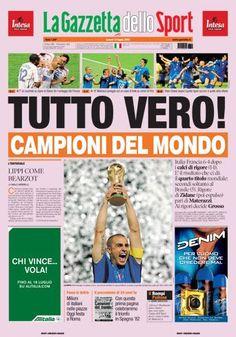 Gazzetta dello sport, 2006.
