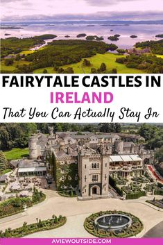 Check out this guide for the best affordable castle hotels in Ireland! Staying in a castle in Ireland is an Irish bucket list dream come true! You will find Irish Castle Hotels in Dublin, Kerry, Donegal and so much more. Where to stay in Ireland | hotels in Ireland | castles in Dublin | castle hotels in Ireland | luxury hotel Ireland | where to stay in Dublin #dublin #ireland #castlehotelsireland #aviewoutside