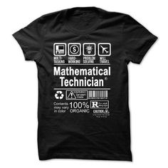 BEST SELLER - MATHEMATICAL TECHNICIAN T-SHIRTS, HOODIES (19.99$ ==►►Click To Shopping Now) #best #seller #- #mathematical #technician #Sunfrog #FunnyTshirts #SunfrogTshirts #Sunfrogshirts #shirts #tshirt #hoodie #sweatshirt #fashion #style