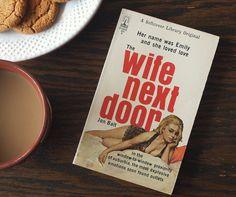 The wife next door by Jon Balt- sexy pulp fiction! #pulp #pulpfiction #vintage #vintagebooks