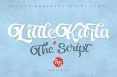LittleKarla Script by Adam Fathony on @creativemarket