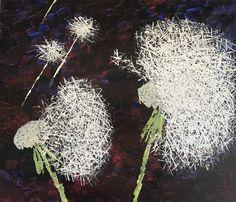 Pusteblume 60 x 70 Dandelion, Flowers, Plants, Abstract, Florals, Art, Dandelions, Plant, Flower