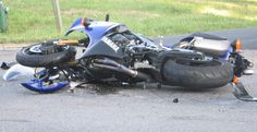 ... motorcycles of different kinds see above a major motorcycle accident