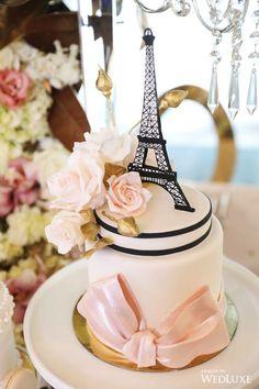 6 Wedding Cake Trends in 2020 Paris Birthday Cakes, Paris Themed Cakes, Paris Cakes, Spa Birthday, Birthday Parties, Black Wedding Cakes, Beautiful Wedding Cakes, Beautiful Cakes, Thema Paris